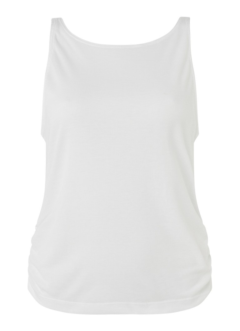 Nike - Yoga tanktop met Dri-FIT - Wit