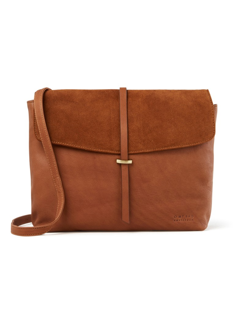 O My Bag - Ella crossbodytas van leer - Cognac