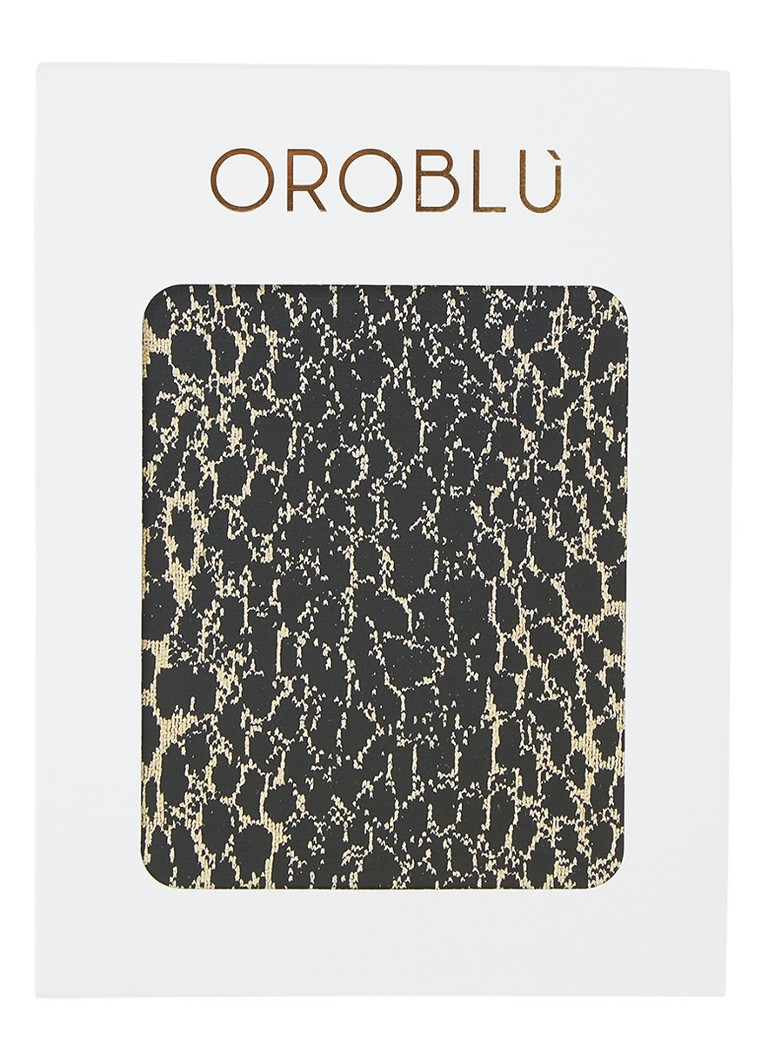 Oroblu - Abstract panty met print in 60 denier - Beige