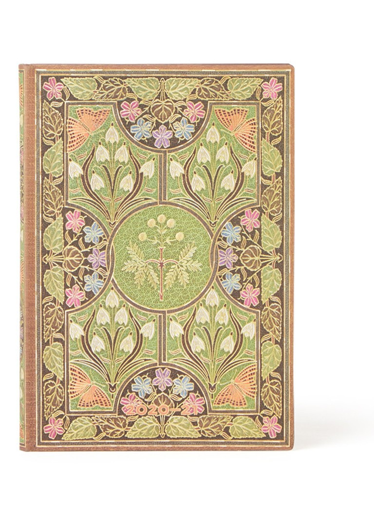 Paperblanks - Poetry in Bloom agenda 2020-2021 - Groen