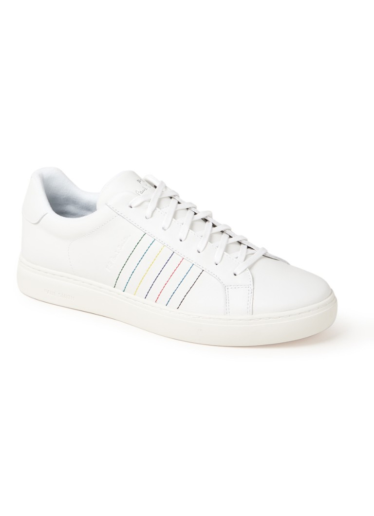 Paul Smith - Rex sneaker van leer  - Wit