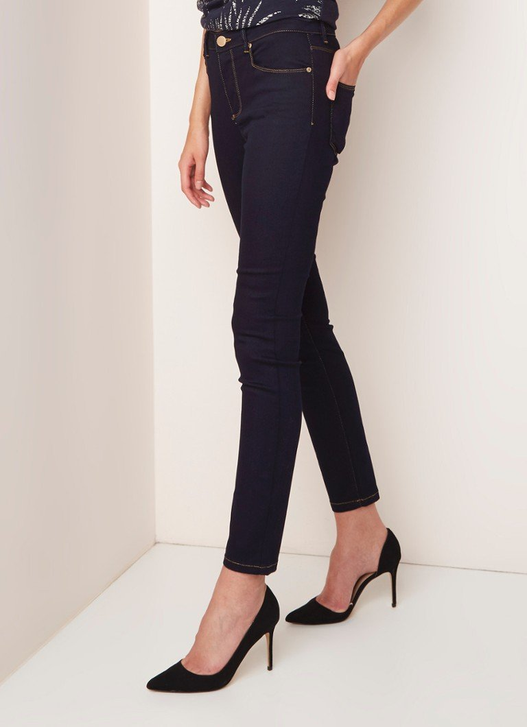 Phase Eight - Alex high rise skinny jeans met donkere wassing - Indigo