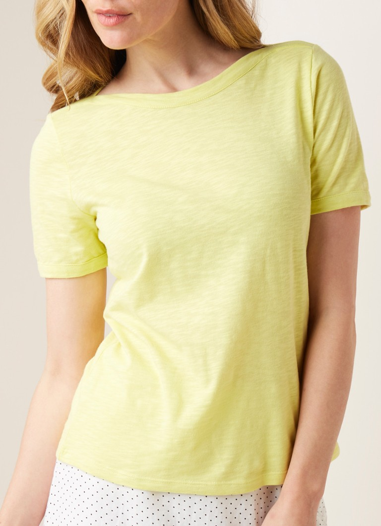 Phase Eight - Elspeth T-shirt van katoen  - Lime