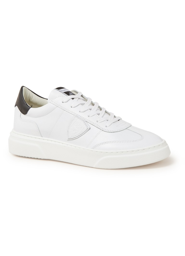 Philippe Model - Temple sneaker van kalfsleer  - Wit