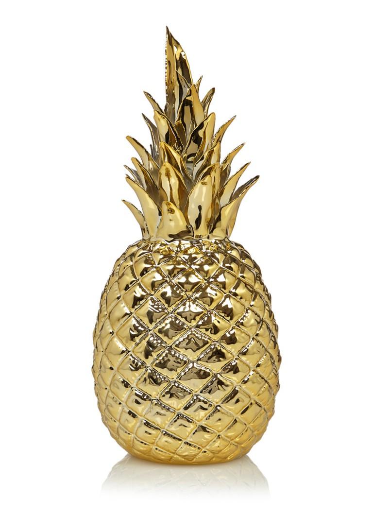 Pols Potten Decoratieve Ananas 30 Cm Goud Debijenkorf Be