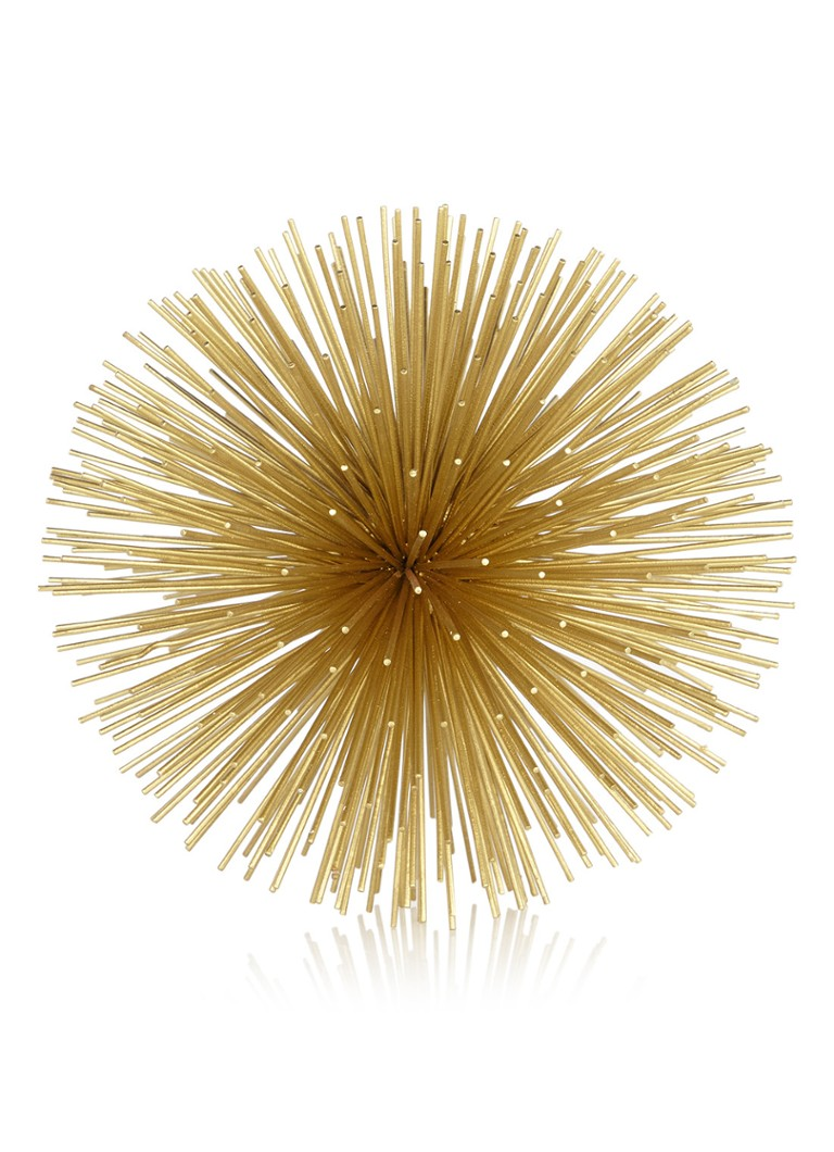 Pols Potten - Prickle Small decoratie van messing  - Goud