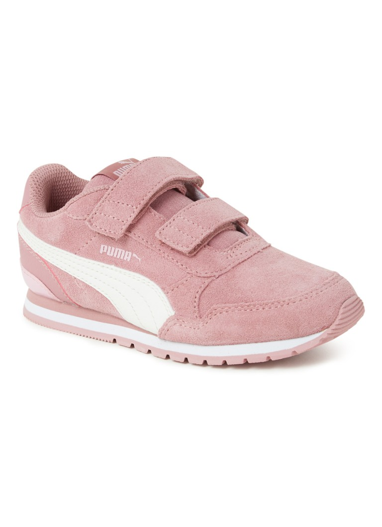Puma - Baskets en daim Runner V2 - Rose