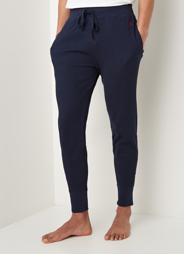 Ralph Lauren - Loungebroek met logoprint - Blauw