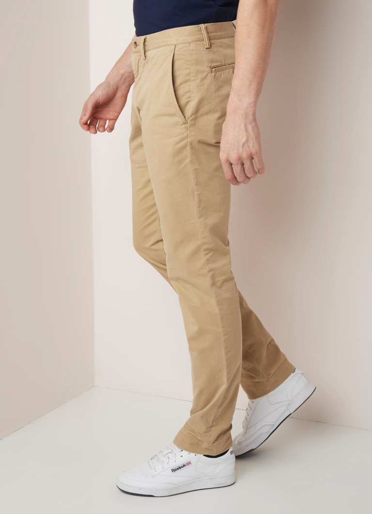 Ralph Lauren - Slim fit chino met stretch - Beige