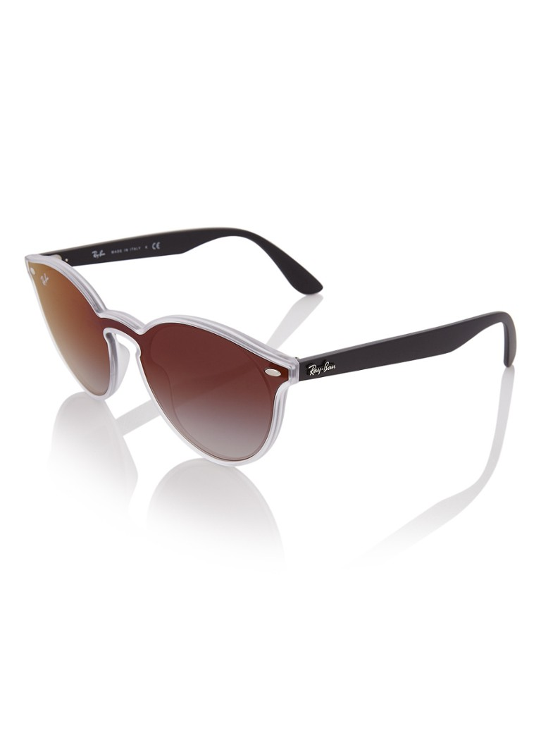 Ray-Ban - Blaze zonnebril RB4380N  - Antraciet