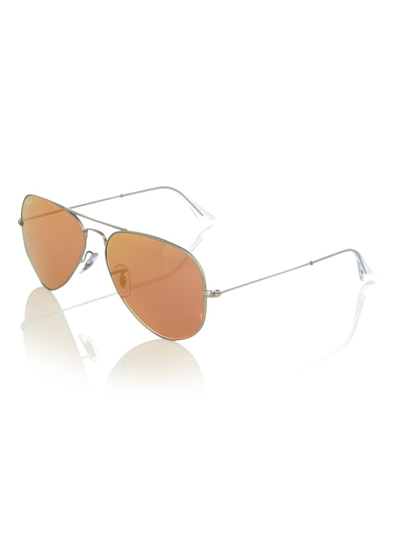 Ray-Ban - Zonnebril Aviator Classic L RB3025 - Zilver