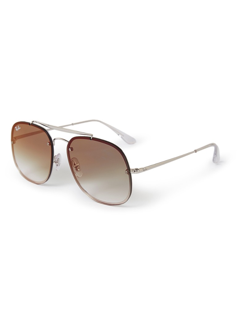 Ray-Ban - Zonnebril RB3583N - Zilver