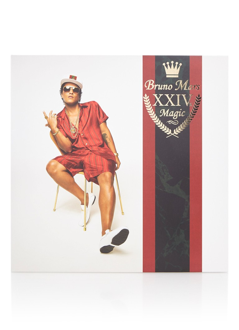 rebellenclub bruno mars 24k magic vinyl lp de bijenkorf. Black Bedroom Furniture Sets. Home Design Ideas