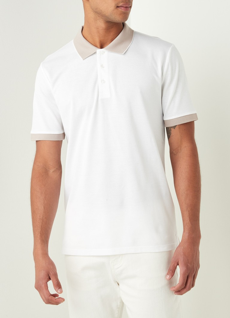 Reiss - Polo regular fit Filipo en coton piqué - Blanc