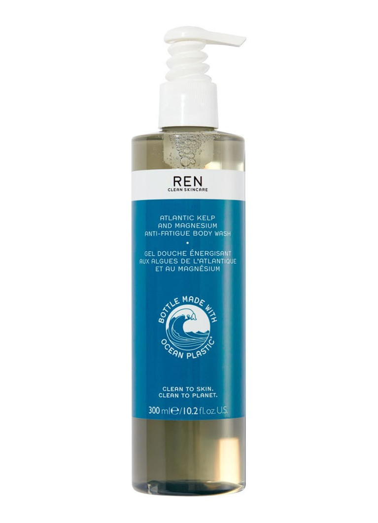 REN - Atlantic Kelp and Magnesium Body Wash - douchegel - null