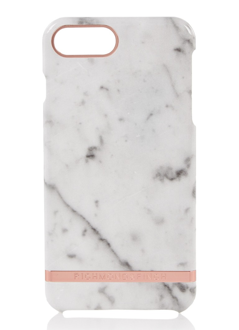 Richmond & Finch - Telefoonhoes voor iPhone 6/6S/7/8 Plus - Ivoor