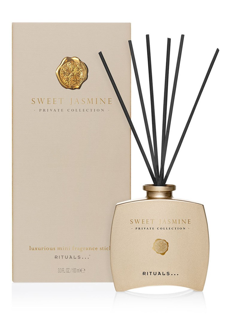 Rituals - Sweet Jasmine Private Collection parfum bâtons 100 ml - Or