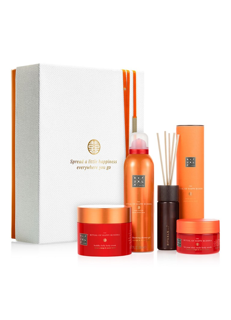 Rituals - The Ritual of Happy Buddha Energising Collection 2019 - verzorgingsset - null