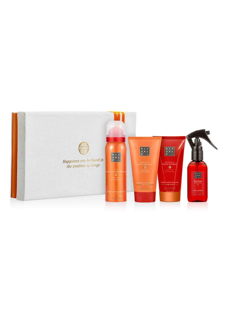 Rituals - The Ritual of Happy Buddha Energising Treat 2019 verzorgingsset -