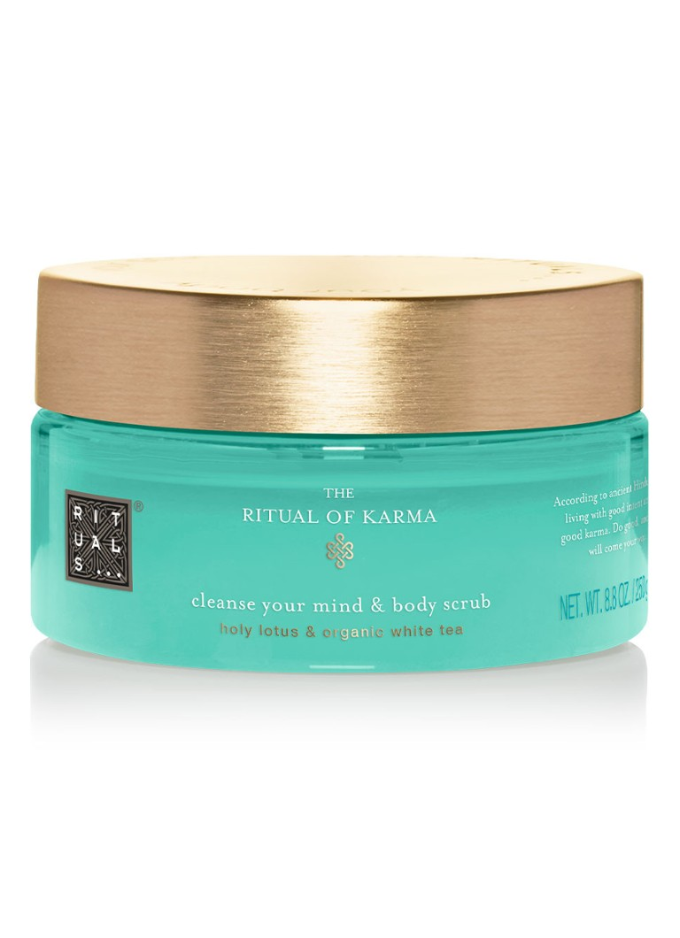 Rituals - The Ritual of Karma Body Scrub - bodyscrub - null