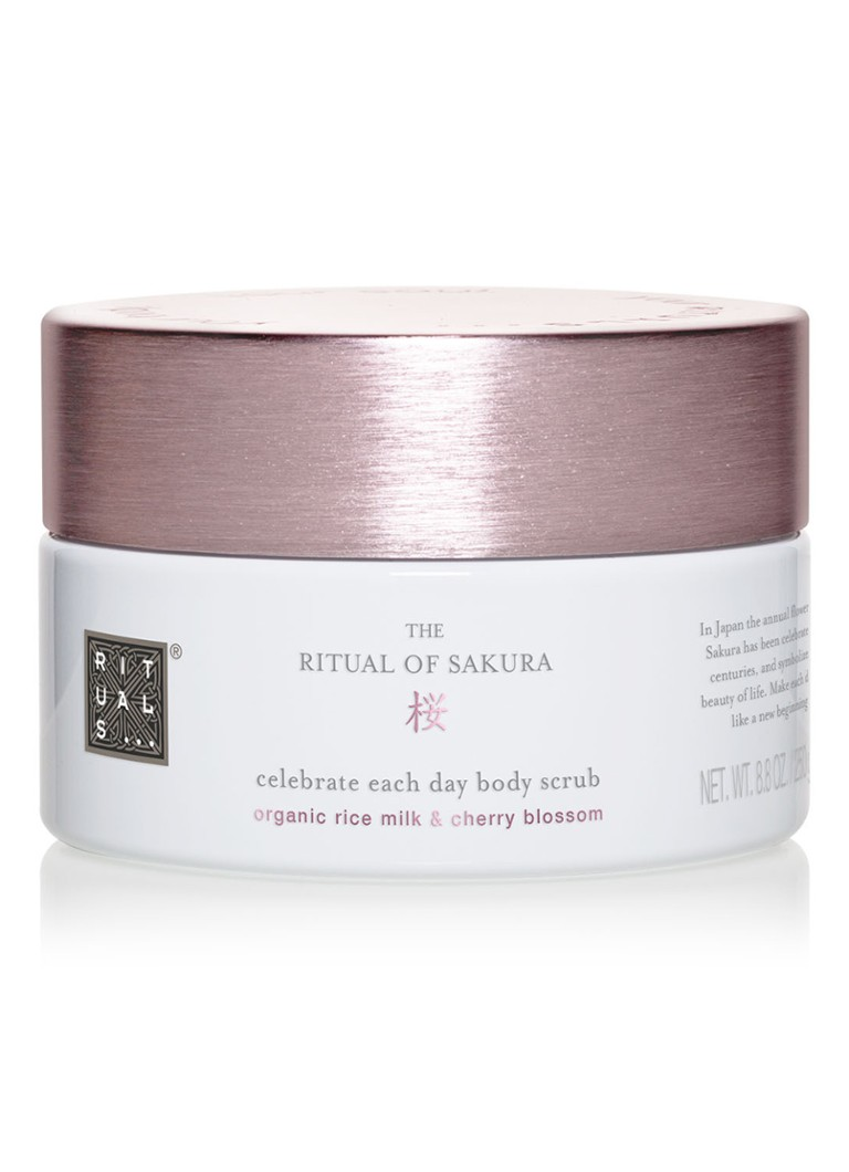 Rituals - The Ritual of Sakura Body Scrub -