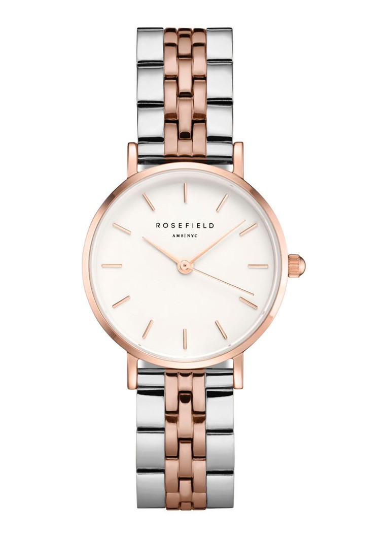 Rosefield - The Small Edit Duo horloge 26SRGD-271 - Roségoud