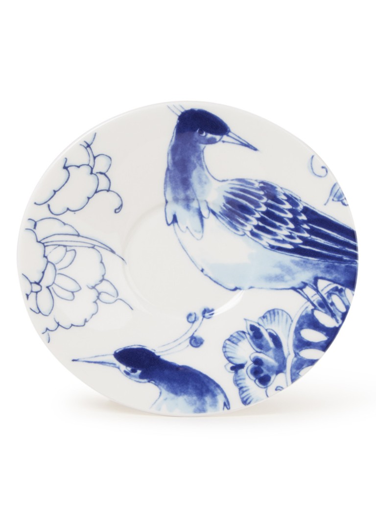 Royal Delft - Peacock Symphony schotel 12 cm  - Blauw