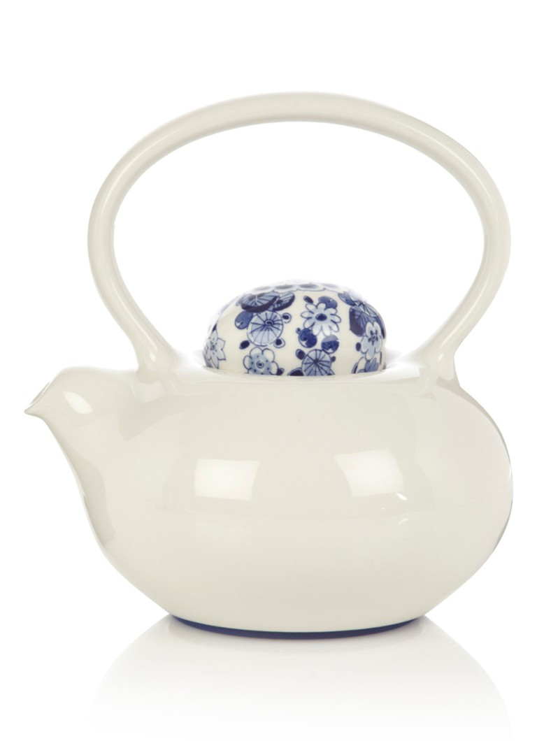 Royal Delft - Théière Belly 22 cm - Blanc