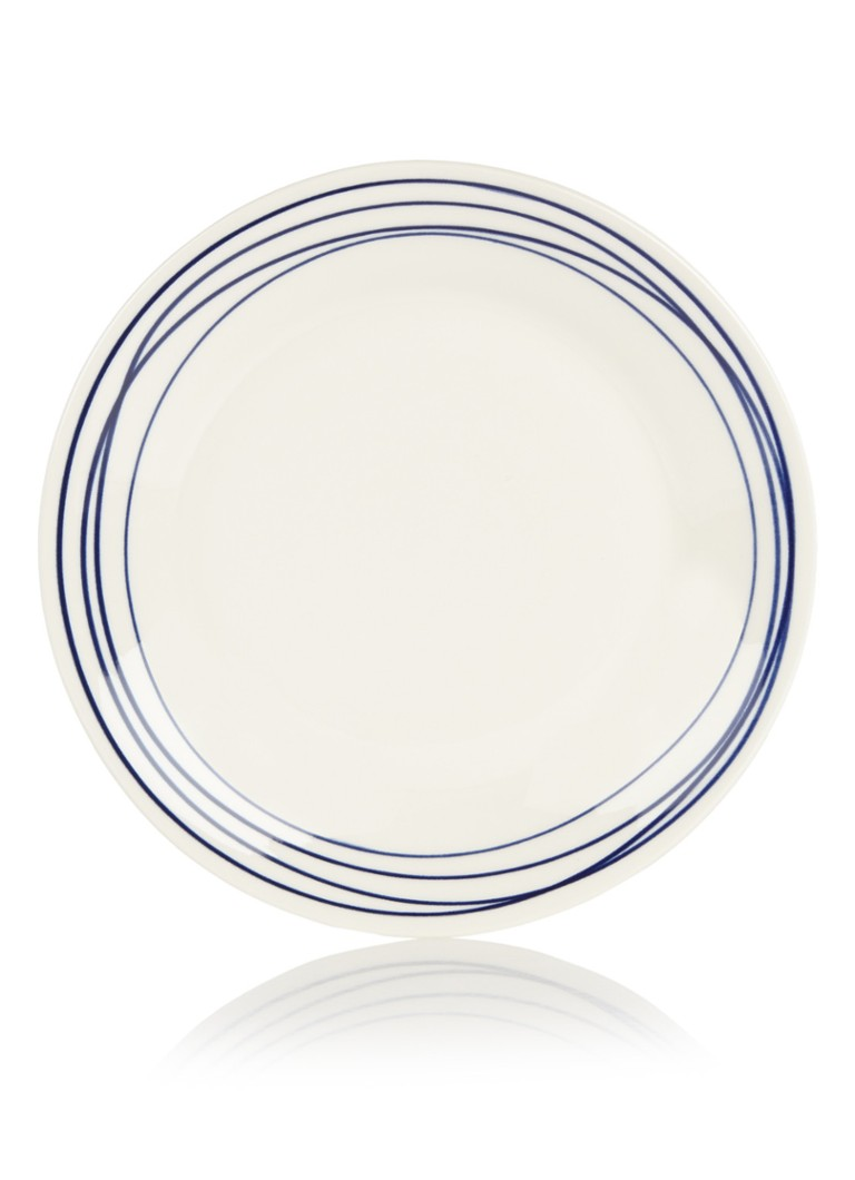 Royal Doulton - Pacific Lines ontbijtbord 23 cm - Gebroken wit