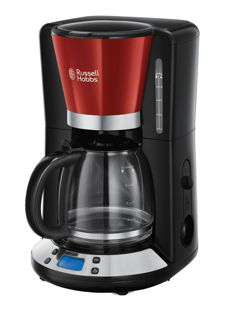 Russell Hobbs - Cafetière Colors Plus 24031-56 - Rouge