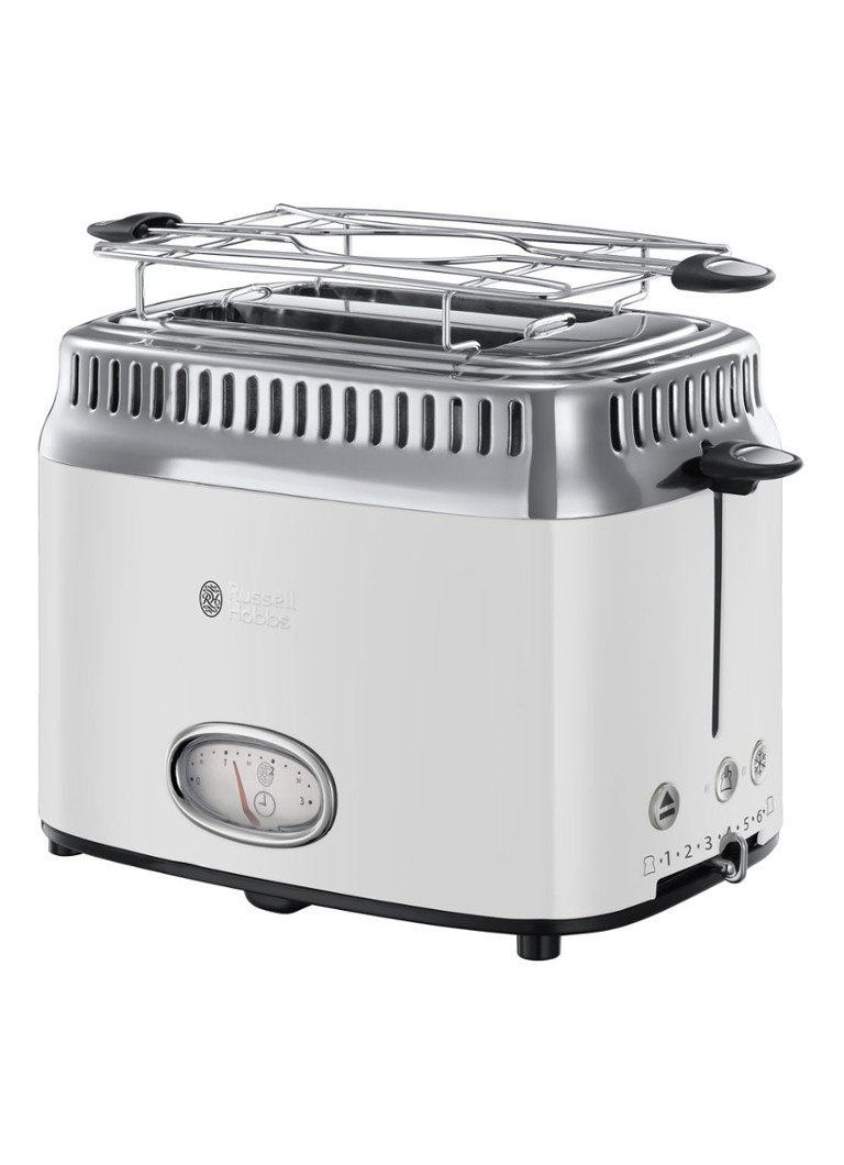 Russell Hobbs - Retro Classic broodrooster 2-slots - Wit