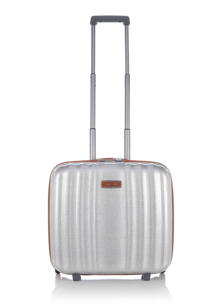 Samsonite - Lite-Cube DLX laptoptrolley - Zilver