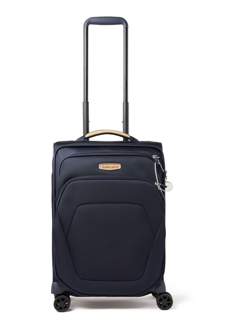 Samsonite - Spark SNG Eco Upright Expandable spinner 55 cm - Donkerblauw