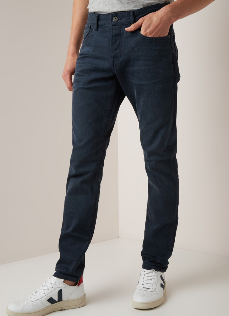 Scotch & Soda - Ralston mid rise slim fit jeans met faded look - Indigo