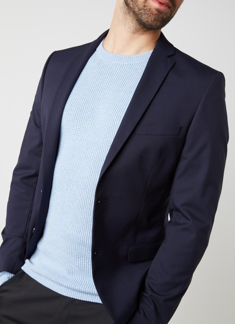 Selected Homme - One Mylo slim fit colbert - Donkerblauw