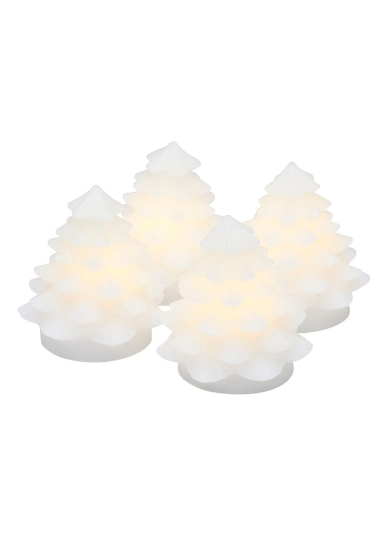 Sirius - Carla Mini Tree kerstverlichting set van 4 - Wit
