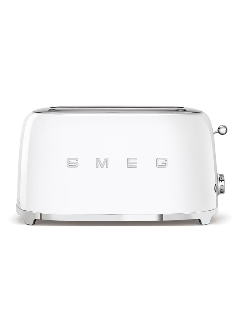 Smeg - 50's Style broodrooster 2-slots extra lang TSF02WHEU - wit - Wit