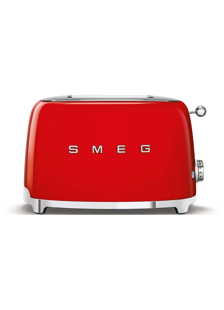 Smeg - 50's Style broodrooster 2-slots TSF01RDEU - rood - Rood