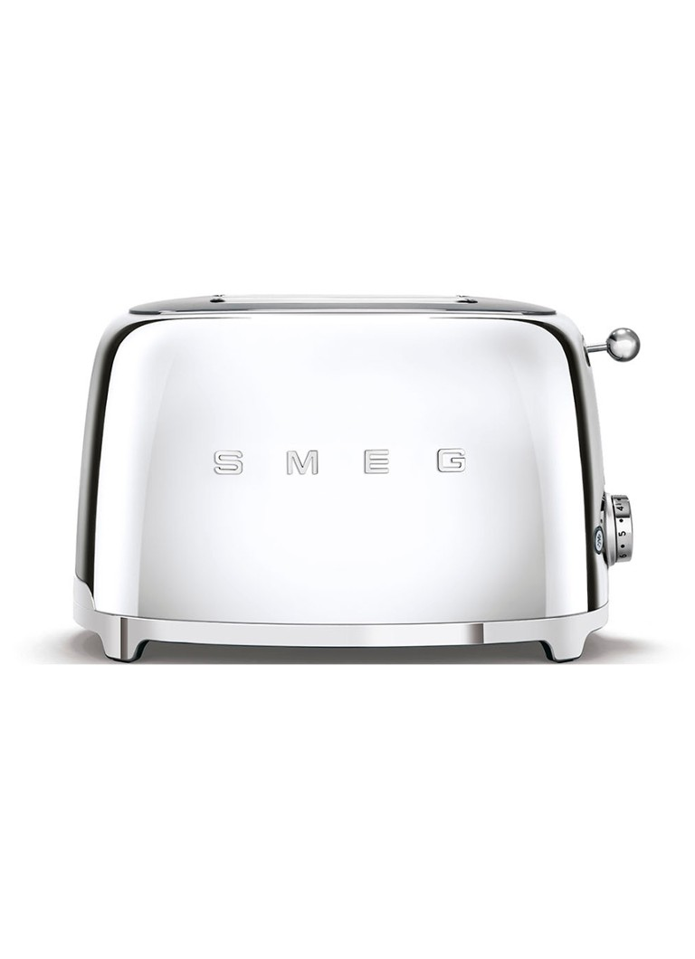 Smeg - 50's Style broodrooster 2-slots TSF01SSEU - chroom - Chroom