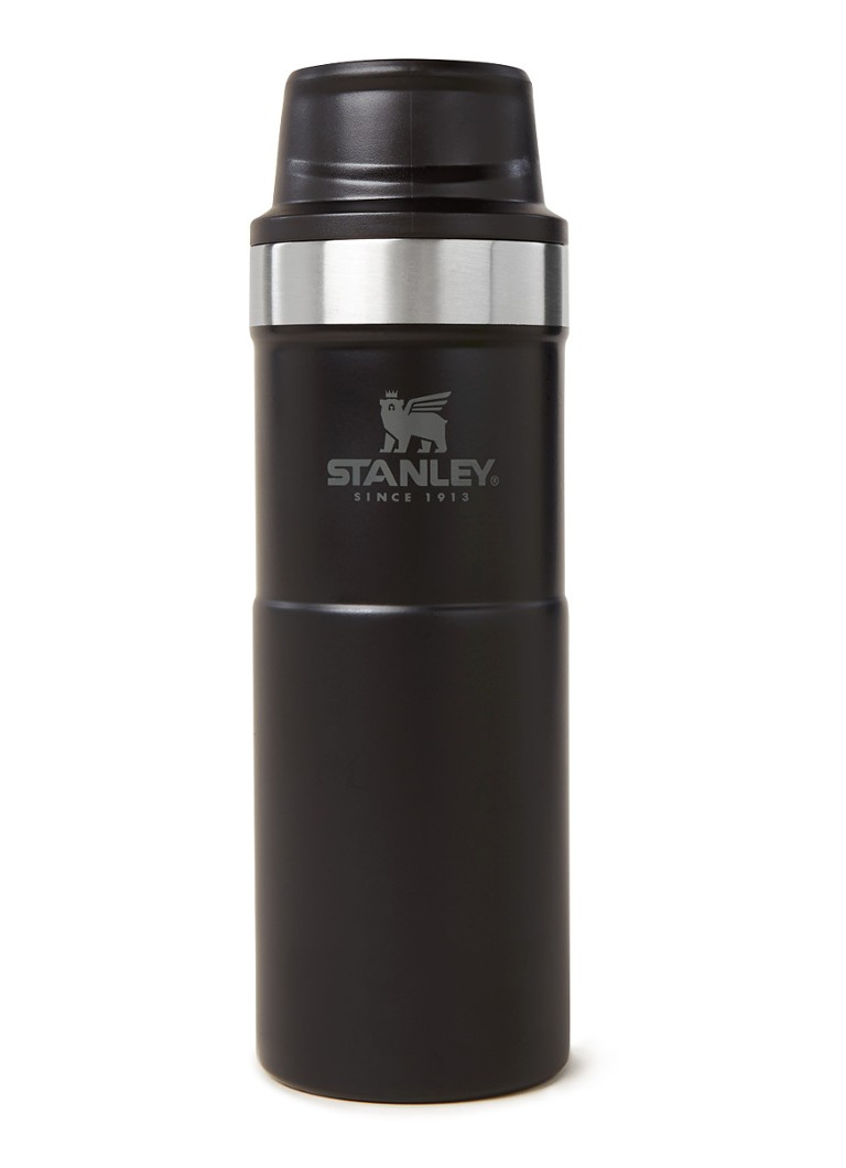 Stanley - The Trigger Action Travel thermosfles 47 cl - Zwart