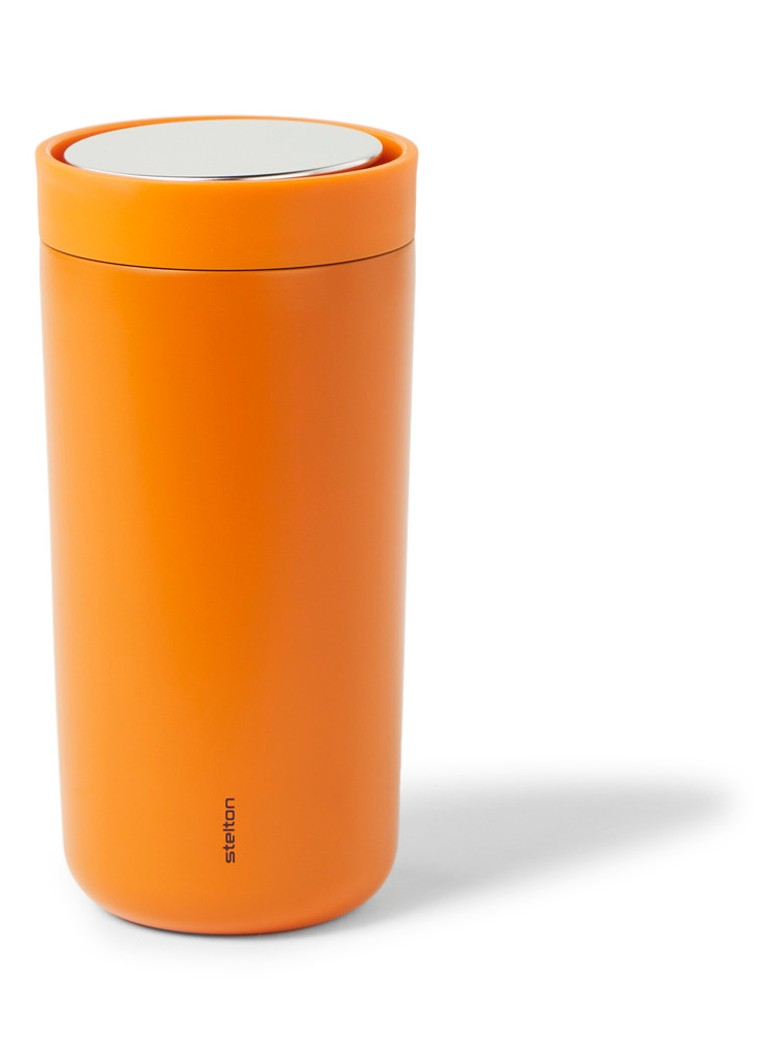 Stelton - To Go Click thermosbeker 400 ml - Oranje