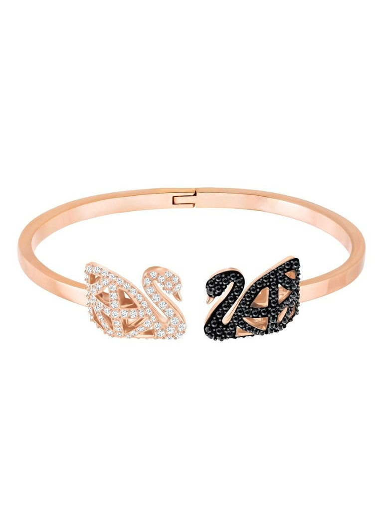 Swarovski - Bangle Facet Swan - Or rose