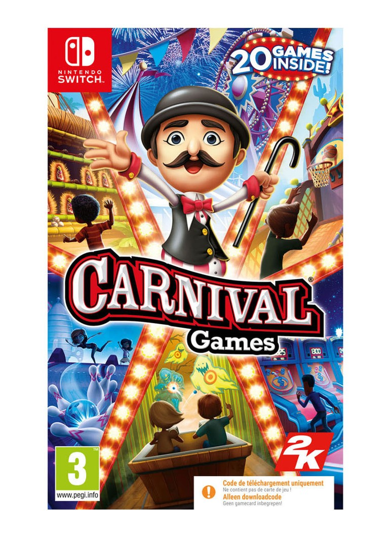Take-Two - Carnival Games (Code dans Box) - Nintendo Switch - null
