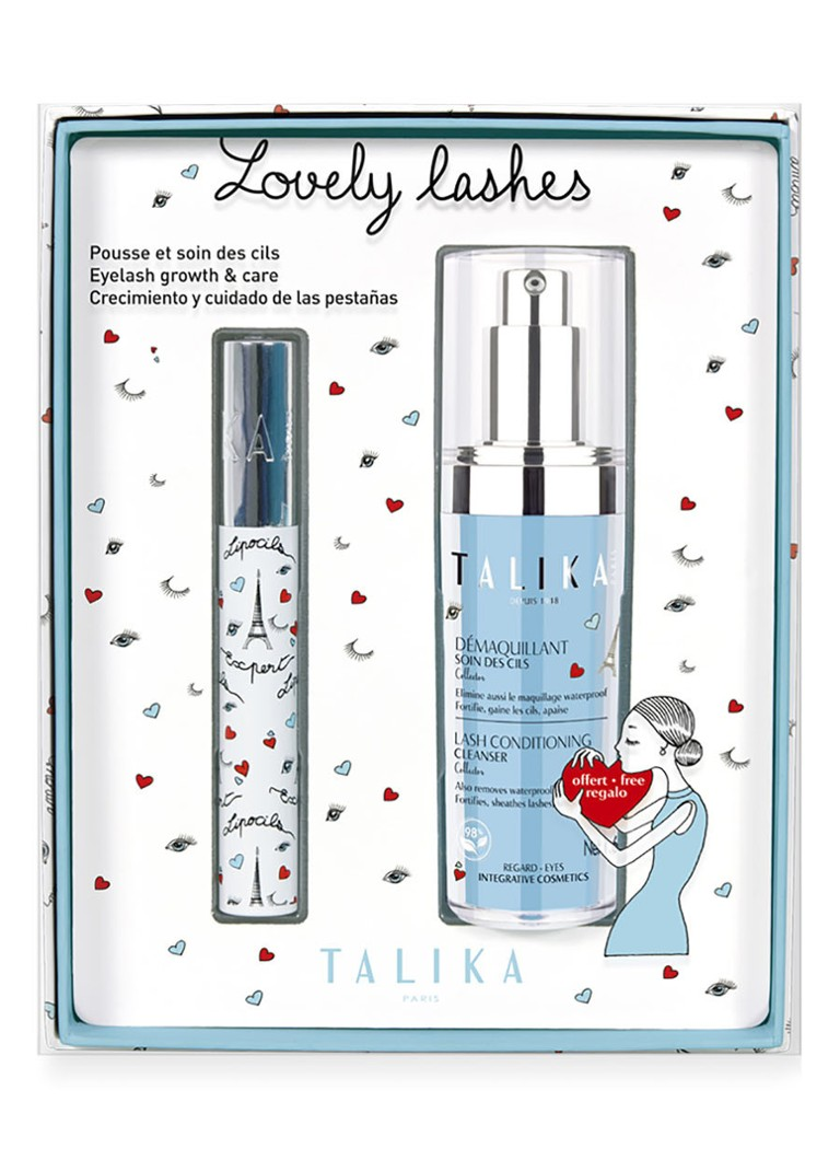 Talika - Lovely Lashes Limited Edition Giftset - wimperserum & cleanser -