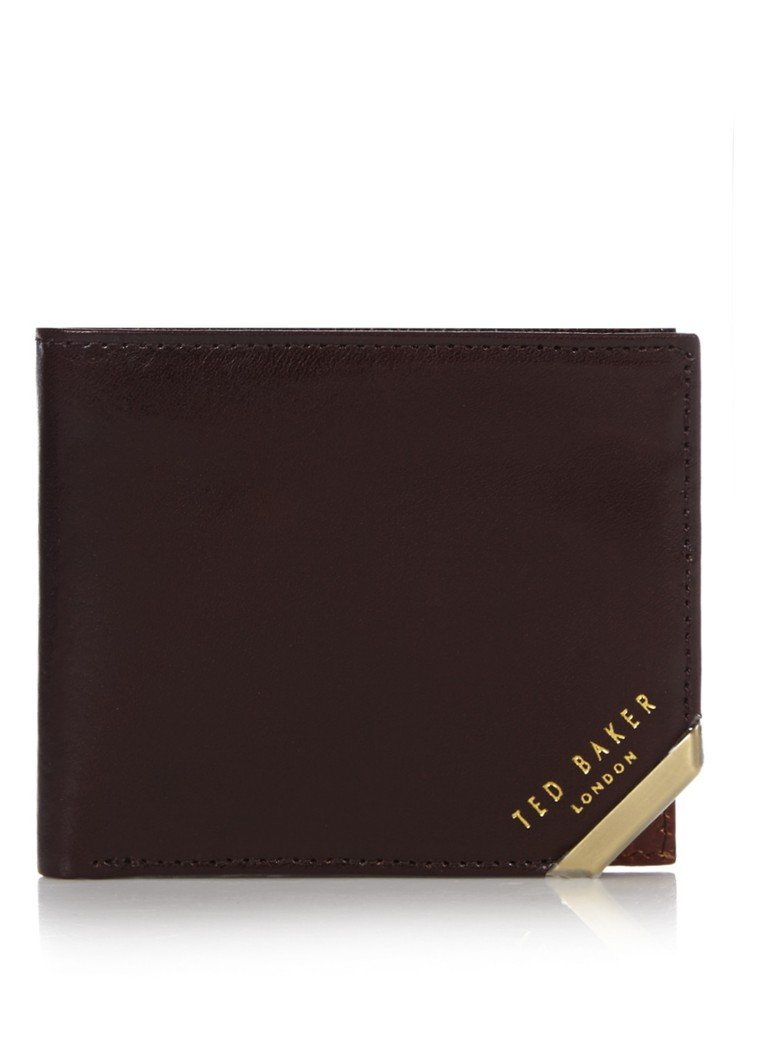 Ted Baker - Billfold Korning - Donkerbruin