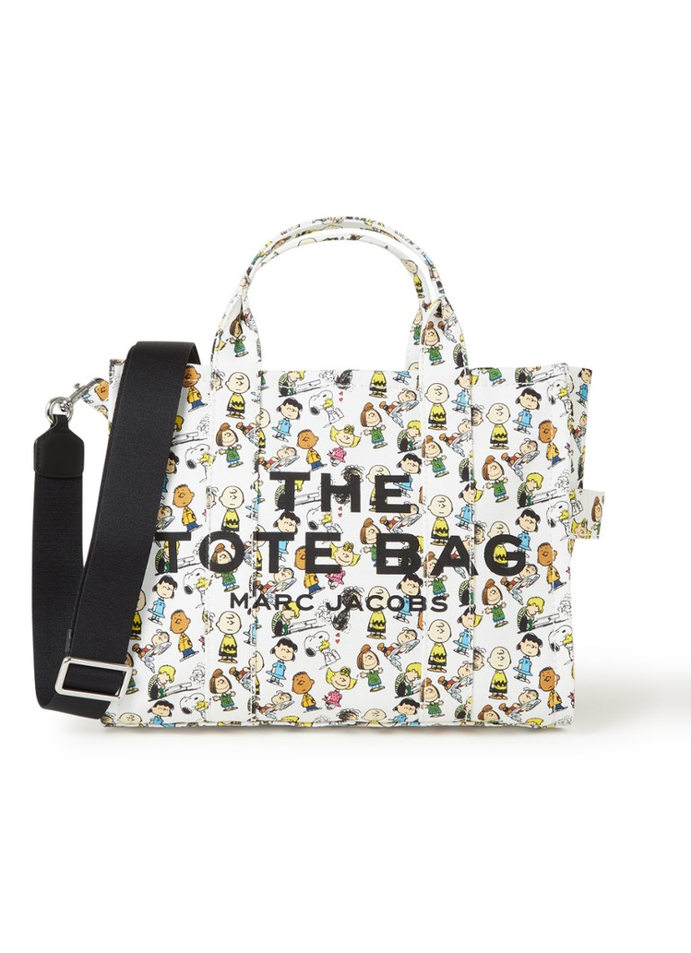 The Marc Jacobs - Peanuts The Small Traveler handtas - Wit