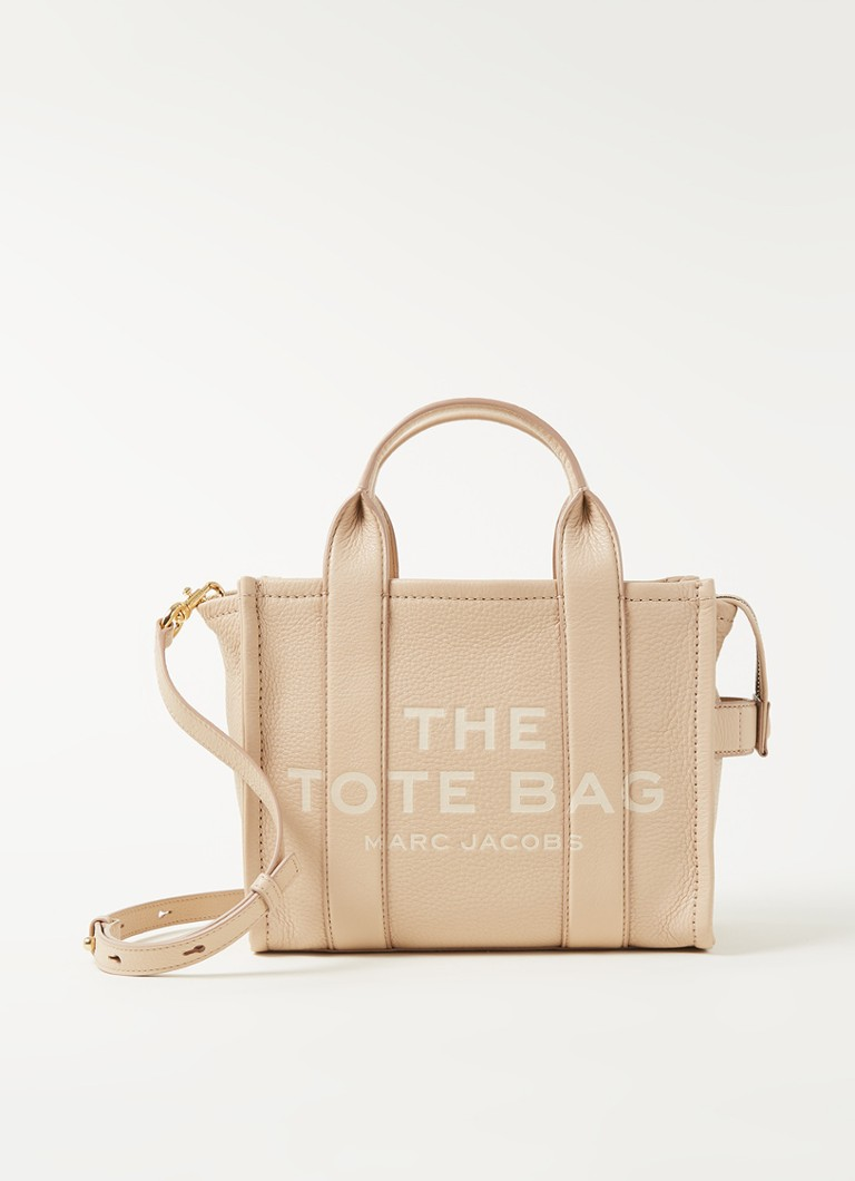 The Marc Jacobs - Sac à main en cuir The Traveller Mini - Sable