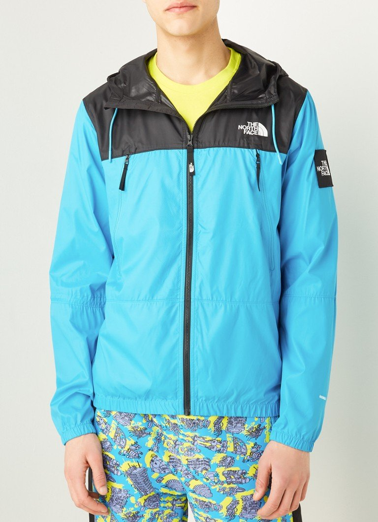 The North Face - Black Box 1990 windjack met logo - Blauw