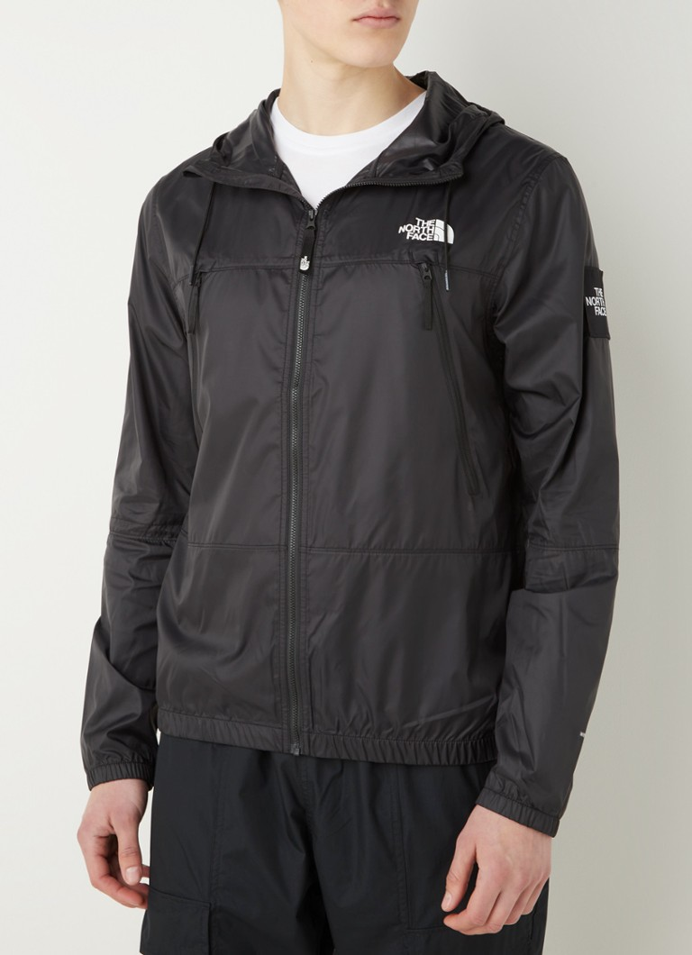 The North Face - Coupe-vent Black Box 1990 avec logo - Noir