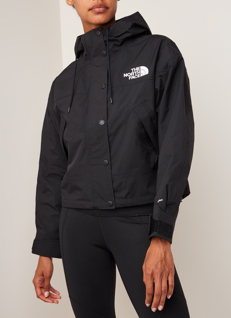 The North Face - Reign On jack met logoborduring - Zwart